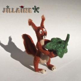 Doudou écureuil