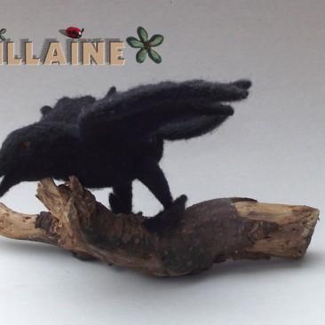 Doudou corbeau