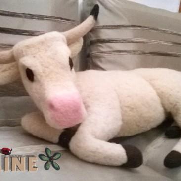 Vache pour crêche de Noel géante